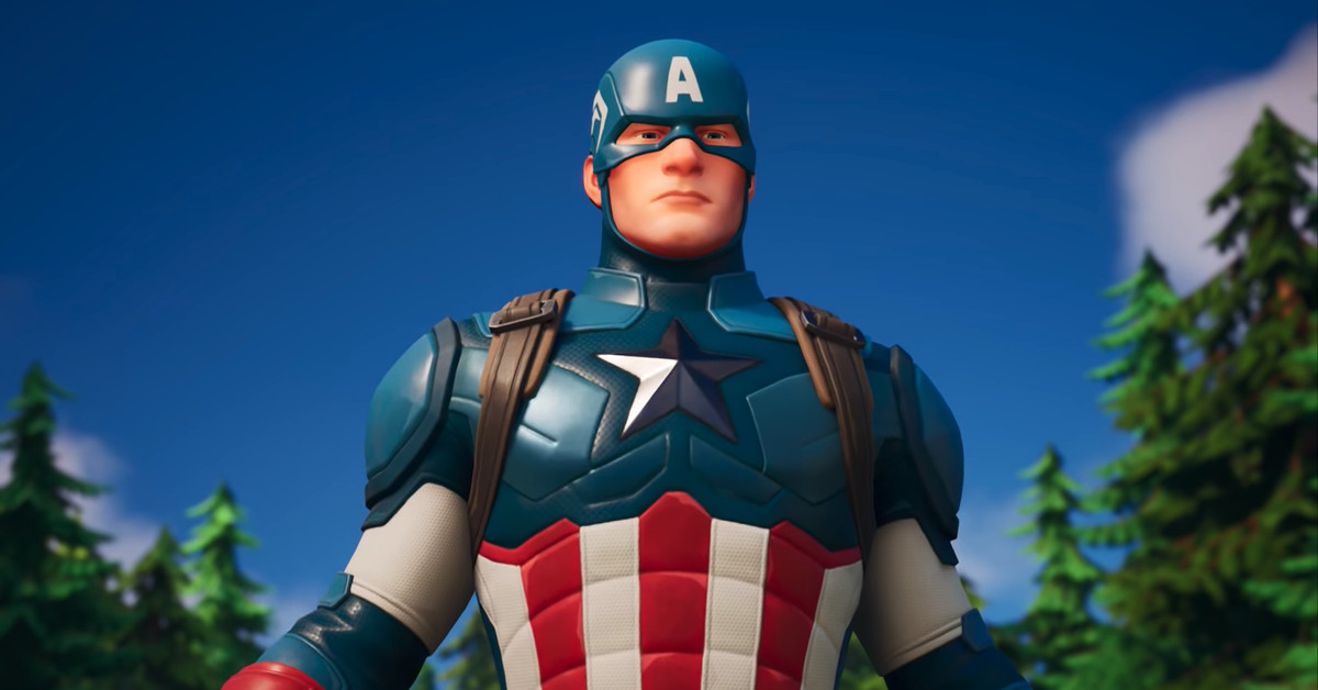 Captain America Is Now In Fortnite Wilson S Media