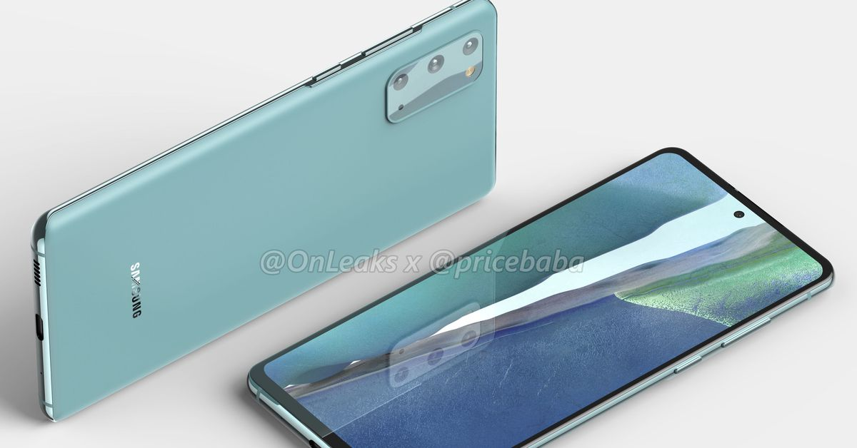 More Affordable Samsung Galaxy S20 Fan Edition Emerges In Leaked Renders Wilson S Media