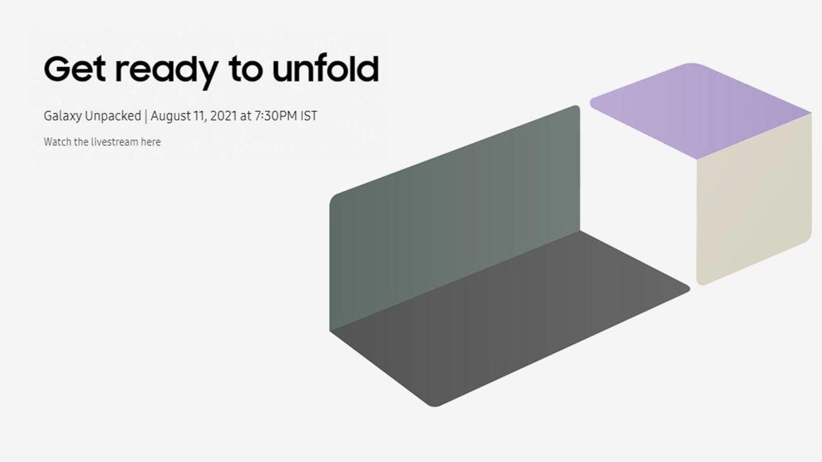 Samsung Galaxy Z Fold 3 and Z Flip 3 pre-bookings open in ...